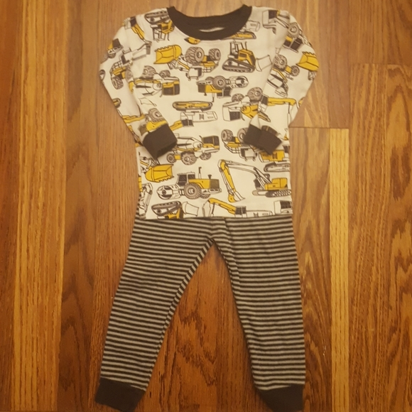 Carter's Other - Carter's Construction Pajama Set